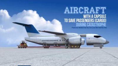 """tatarenko)的创新构想,将机舱改成""""分离式″设计,或可在搭飞机遇到"""
