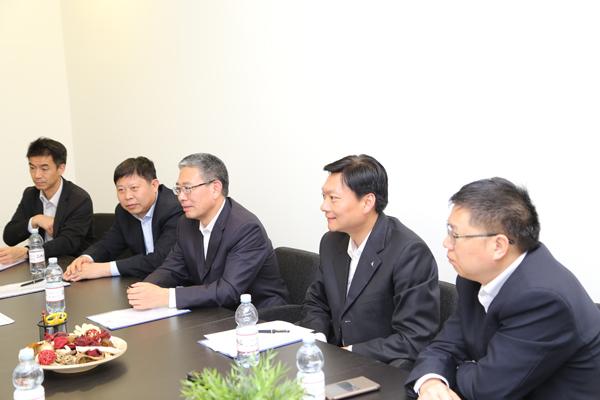 热烈欢迎广东清远市政府代表团访问意大利