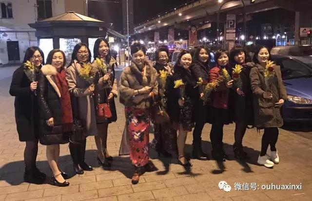 热那亚华侨华人妇女会欢度三八妇女节