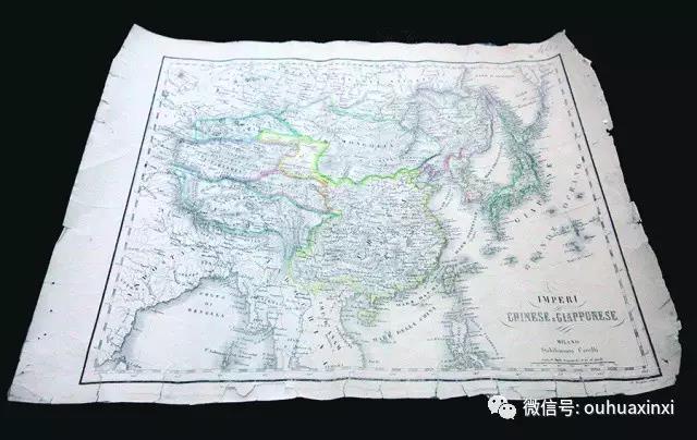 温籍爱国侨领提供钓鱼岛历史依据- 古玩收藏爱好者无偿捐赠地图