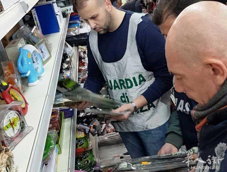 最具影响力的彩票刮刮乐能中大奖吗:Cagliari华人商店被查扣5500件价值一万欧货物