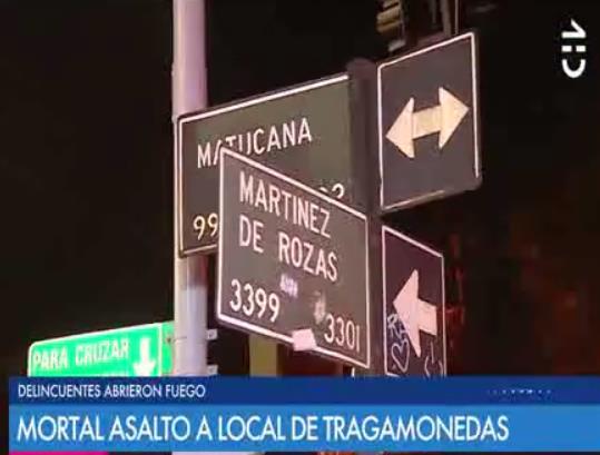急速赛车彩票平台:圣地亚哥赌机店发生持枪抢劫命案