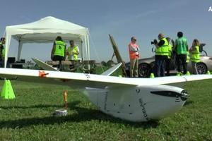 Droni Snam per monitorare rete trasmissione gas (ANSA)