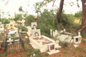 Tornado in Grecia, morti sei turisti (ANSA)