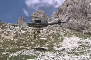 Esercito: conclusa esercitazione Alpini su Tre Cime Lavaredo (ANSA)