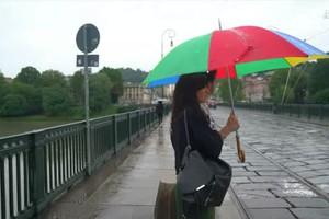 Maltempo, a Torino 100 mm di piogga in 12 ore (ANSA)